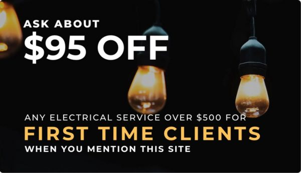 electrical service discount